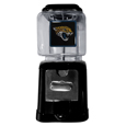 Jacksonville Jaguars Black Gumball/Candy Machine - Craving something sweet? Then just reach for your very own Jacksonville Jaguars gumball machine! This fun gumball machine accepts nickels, dimes or quarters and can be set for free dispensing. The glass globe is 4 inches wide and tall and can be used for any gumballs or candy that is less than 1/2 inch. The cast metal base is sturdy and features a chrome metal coin receptacle and turn handle. The classic novelty item is perfect for your desk at work, dorm room or game room.