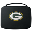 Green Bay Packers GoPro Carrying Case - Our Green Bay Packers carrying case for GoPro cameras is the perfect balance of style and functionality. This protective case is water resistant, with a water resistant zipper system making it a great way to protect your Go Pro on the go! The case has a durable insert that fits the GoPro 1,2,3,3+ and 4 plus housing, housing backdoors, SD memory card, battery, power plug, remote control, battery pack and LCD. The case has an additional mesh storage pocket for cables and additional accessories. The classic black case features a large printed team logo. Officially licensed NFL product Licensee: Siskiyou Buckle Thank you for visiting CrazedOutSports.com