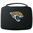 Jacksonville Jaguars GoPro Carrying Case - Our Jacksonville Jaguars carrying case for GoPro cameras is the perfect balance of style and functionality. This protective case is water resistant, with a water resistant zipper system making it a great way to protect your Go Pro on the go! The case has a durable insert that fits the GoPro 1,2,3,3+ and 4 plus housing, housing backdoors, SD memory card, battery, power plug, remote control, battery pack and LCD. The case has an additional mesh storage pocket for cables and additional accessories. The classic black case features a large printed team logo. Officially licensed NFL product Licensee: Siskiyou Buckle Thank you for visiting CrazedOutSports.com
