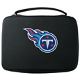 Tennessee Titans GoPro Carrying Case - Our Tennessee Titans carrying case for GoPro cameras is the perfect balance of style and functionality. This protective case is water resistant, with a water resistant zipper system making it a great way to protect your Go Pro on the go! The case has a durable insert that fits the GoPro 1,2,3,3+ and 4 plus housing, housing backdoors, SD memory card, battery, power plug, remote control, battery pack and LCD. The case has an additional mesh storage pocket for cables and additional accessories. The classic black case features a large printed team logo. Officially licensed NFL product Licensee: Siskiyou Buckle .com