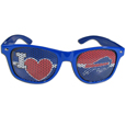 Buffalo Bills I Heart Game Day Shades - Our officially licensed I Heart game day shades are the perfect accessory for the devoted Buffalo Bills fan! The sunglasses have durable polycarbonate frames with flex hinges for comfort and damage resistance. The lenses feature brightly colored team clings that are perforated for visibility. Officially licensed NFL product Licensee: Siskiyou Buckle .com