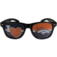 Denver Broncos I Heart Game Day Shades - Our officially licensed I Heart game day shades are the perfect accessory for the devoted Denver Broncos fan! The sunglasses have durable polycarbonate frames with flex hinges for comfort and damage resistance. The lenses feature brightly colored team clings that are perforated for visibility. Officially licensed NFL product Licensee: Siskiyou Buckle Thank you for visiting CrazedOutSports.com
