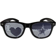 Dallas Cowboys I Heart Game Day Shades - Our officially licensed I Heart game day shades are the perfect accessory for the devoted Dallas Cowboys fan! The sunglasses have durable polycarbonate frames with flex hinges for comfort and damage resistance. The lenses feature brightly colored team clings that are perforated for visibility. Officially licensed NFL product Licensee: Siskiyou Buckle .com