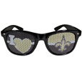 New Orleans Saints I Heart Game Day Shades - Our officially licensed I Heart game day shades are the perfect accessory for the devoted New Orleans Saints fan! The sunglasses have durable polycarbonate frames with flex hinges for comfort and damage resistance. The lenses feature brightly colored team clings that are perforated for visibility. Officially licensed NFL product Licensee: Siskiyou Buckle .com