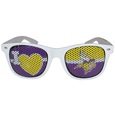 Minnesota Vikings I Heart Game Day Shades - Our officially licensed I Heart game day shades are the perfect accessory for the devoted Minnesota Vikings fan! The sunglasses have durable polycarbonate frames with flex hinges for comfort and damage resistance. The lenses feature brightly colored team clings that are perforated for visibility. Officially licensed NFL product Licensee: Siskiyou Buckle Thank you for visiting CrazedOutSports.com
