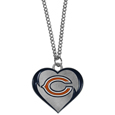 Chicago Bears Heart Necklace