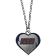 New York Giants Heart Necklace