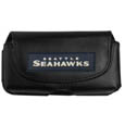 Seattle Seahawks Smart Phone Pouch - Our smart phone pouch fits most phone styles and features a magnetic flip cover for easy access. The pouch has a clip with swivel head to easily attach the pouch to belts, backpacks or purses. Officially licensed NFL product Licensee: Siskiyou Buckle .com