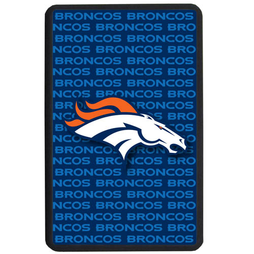 Denver Broncos Kindle Fire Snap on Case - Our officially licensed NFL Kindle fire snap on case weighs only 7 ounces and has an inset metal team graphics plate. The case snaps easily onto your device providing protection while showing off your Denver Broncos pride! Officially licensed NFL product Licensee: Siskiyou Buckle Thank you for visiting CrazedOutSports.com