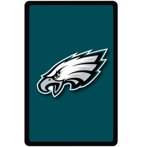 Philadelphia Eagles Kindle Fire Snap on Case - Our officially licensed NFL Kindle fire snap on case weighs only 7 ounces and has an inset metal team graphics plate. The case snaps easily onto your device providing protection while showing off your Philadelphia Eagles pride! Officially licensed NFL product Licensee: Siskiyou Buckle Thank you for visiting CrazedOutSports.com
