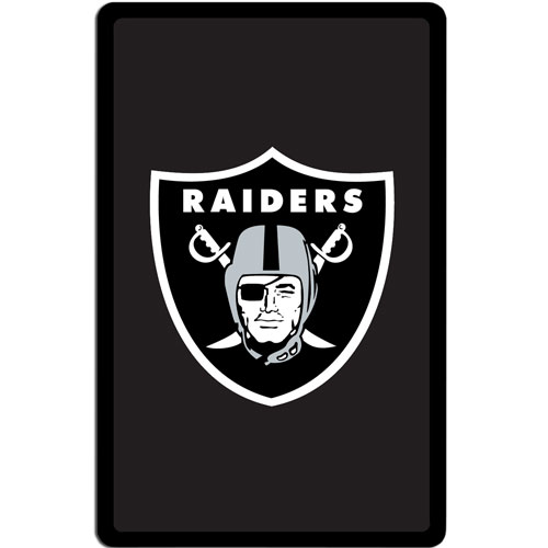Oakland Raiders Kindle Fire Snap on Case - Our officially licensed NFL Kindle fire snap on case weighs only 7 ounces and has an inset metal team graphics plate. The case snaps easily onto your device providing protection while showing off your Oakland Raiders pride! Officially licensed NFL product Licensee: Siskiyou Buckle Thank you for visiting CrazedOutSports.com