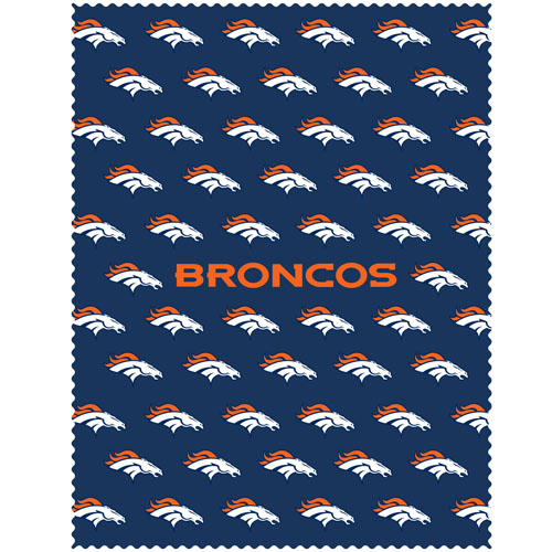 "Denver Broncos iPad Microfiber Cleaning Cloth - Our NFL Denver Broncos iPad microfiber cleaning cloth is great for keeping your iPad screen free of oil, dirt and smudges. The cloth is sized to perfectly fit the iPad screen so that it lays over it as added protection when the device is in a case. 7.5"" x 9.5"" cloth. Officially licensed NFL product Licensee: Siskiyou Buckle Thank you for visiting CrazedOutSports.com"