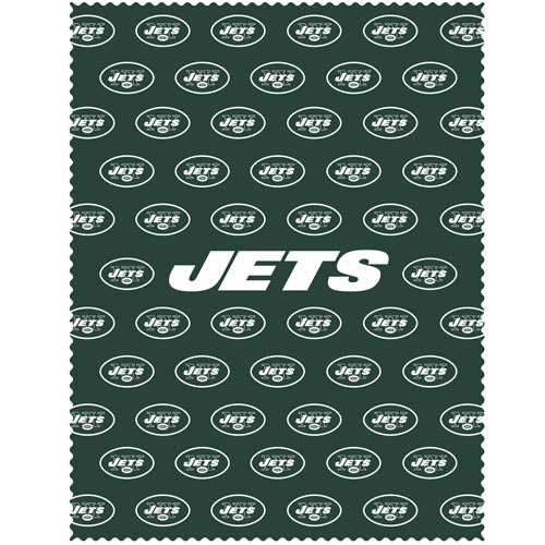 "New York Jets iPad Microfiber Cleaning Cloth - Our NFL New York Jets iPad microfiber cleaning cloth is great for keeping your iPad screen free of oil, dirt and smudges. The cloth is sized to perfectly fit the iPad screen so that it lays over it as added protection when the device is in a case. 7.5"" x 9.5"" cloth. Officially licensed NFL product Licensee: Siskiyou Buckle Thank you for visiting CrazedOutSports.com"