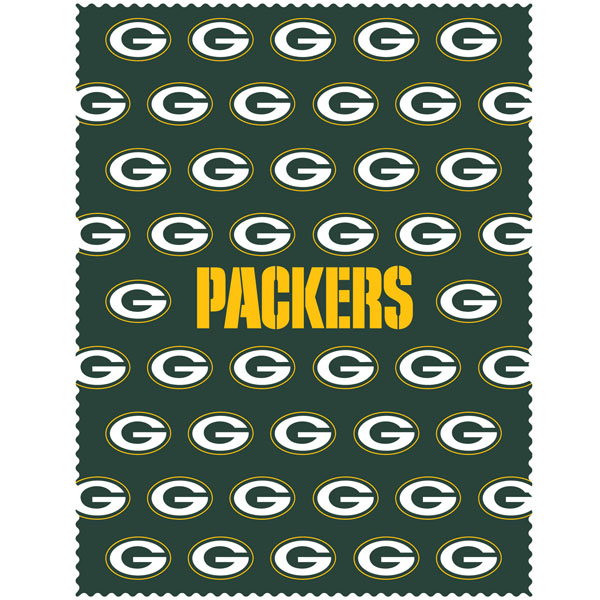 Siskiyou Green Bay Packers iPad Cleaning Cloth