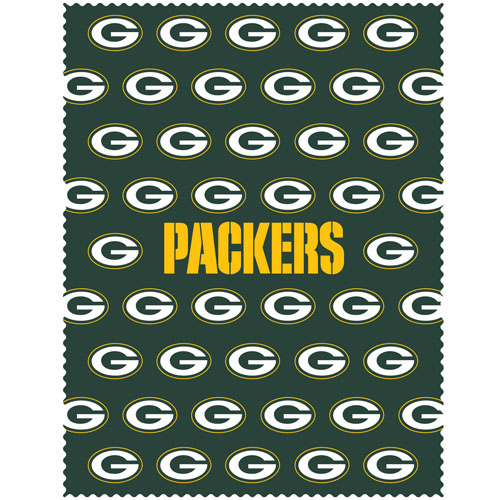 "Green Bay Packers iPad Microfiber Cleaning Cloth - Our NFL Green Bay Packers iPad microfiber cleaning cloth is great for keeping your iPad screen free of oil, dirt and smudges. The cloth is sized to perfectly fit the iPad screen so that it lays over it as added protection when the device is in a case. 7.5"" x 9.5"" cloth. Officially licensed NFL product Licensee: Siskiyou Buckle .com"