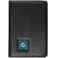 Miami Dolphins iPad Air Folio Case - This attractive Miami Dolphins iPad Air folio case provides all over protection for your tablet while allowing easy flip access. The cover is designed to allow you to fully utilize your tablet without ever removing it from the padded, protective cover. The enameled team emblem makes this case a great way to show off your team pride! Officially licensed NFL product Licensee: Siskiyou Buckle .com