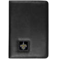 New Orleans Saints iPad Air Folio Case - This attractive New Orleans Saints iPad Air folio case provides all over protection for your tablet while allowing easy flip access. The cover is designed to allow you to fully utilize your tablet without ever removing it from the padded, protective cover. The enameled team emblem makes this case a great way to show off your team pride! Officially licensed NFL product Licensee: Siskiyou Buckle .com