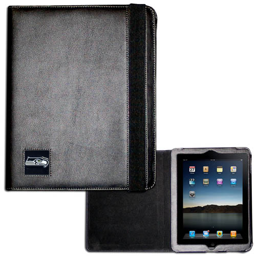Seahawks iPad Case - The perfect iPad accessory. The black case hold the iPad 1 and the iPad 2 with Smart Cover and features a cast and enameled NFL team emblem. Officially licensed NFL product Licensee: Siskiyou Buckle Thank you for visiting CrazedOutSports.com