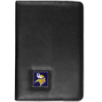 Minnesota Vikings iPad Air Folio Case - This attractive Minnesota Vikings iPad Air folio case provides all over protection for your tablet while allowing easy flip access. The cover is designed to allow you to fully utilize your tablet without ever removing it from the padded, protective cover. The enameled team emblem makes this case a great way to show off your team pride! Officially licensed NFL product Licensee: Siskiyou Buckle .com