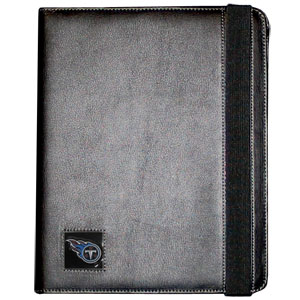 Titans iPad Case - The perfect iPad accessory. The black case hold the iPad 1 and the iPad 2 with Smart Cover and features a cast and enameled NFL team emblem. Officially licensed NFL product Licensee: Siskiyou Buckle .com