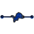 Detroit Lions Industrial Slider Barbell -  Show off your love of the game with this officially licensed.Detroit Lions industrial slider barbell. The 40mm barbell features an expertly designed team slider charm. Officially licensed NFL product Licensee: Siskiyou Buckle. !