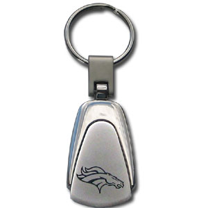 NFL Etched Key Chain - Denver Broncos - This key ring features a laser etched NFL team logo on brushed steel set in a chrome key ring. Check out our extensive line of  NFL merchandise! Officially licensed NFL product Licensee: Siskiyou Buckle Thank you for visiting CrazedOutSports.com