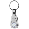 Steel Teardrop Key Chains