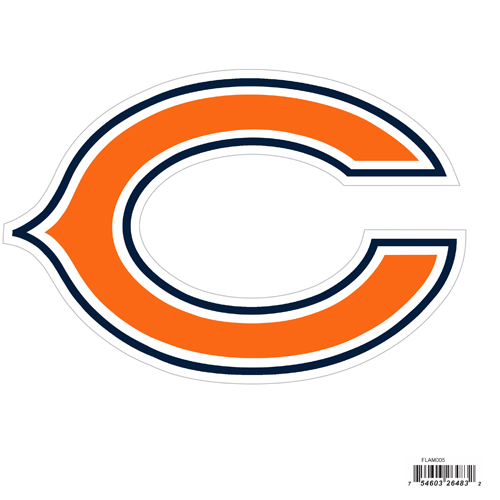 "Chicago Bears 8"" Logo Magnet - Make sure everyone knows your are a fan with our big 8"" logo magnets. These officially licensed magnets stick to any magnetic metal and our outdoor rated! Perfect for game day and everyday! Officially licensed NFL product Licensee: Siskiyou Buckle .com"