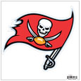 "Tampa Bay Buccaneers 8"" Logo Magnet - Make sure everyone knows your are a fan with our big 8"" logo magnets. These officially licensed magnets stick to any magnetic metal and our outdoor rated! Perfect for game day and everyday! Officially licensed NFL product Licensee: Siskiyou Buckle .com"