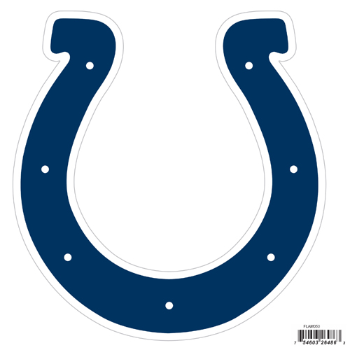 "Indianapolis Colts 8"" Logo Magnet - Make sure everyone knows your are a fan with our big 8"" logo magnets. These officially licensed magnets stick to any magnetic metal and our outdoor rated! Perfect for game day and everyday! Officially licensed NFL product Licensee: Siskiyou Buckle Thank you for visiting CrazedOutSports.com"