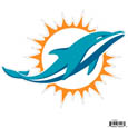 "Miami Dolphins 8"" Logo Magnet - Make sure everyone knows your are a fan with this big Miami Dolphins 8"" Logo Magnet. This officially licensed Miami Dolphins 8"" Logo Magnet sticks to any magnetic metal and is outdoor rated also safe to use on your automotive applications! Miami Dolphins 8"" Logo Magnet is perfect for game day and everyday! Officially licensed NFL product Licensee: Siskiyou Buckle .com"