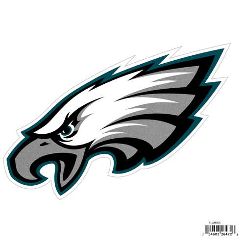 "Philadelphia Eagles 8"" Logo Magnet - Make sure everyone knows your are a fan with our big 8"" logo magnets. These officially licensed magnets stick to any magnetic metal and our outdoor rated! Perfect for game day and everyday! Officially licensed NFL product Licensee: Siskiyou Buckle .com"