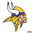 "Minnesota Vikings 8"" Logo Magnet - Make sure everyone knows your are a fan with our big 8"" logo magnets. These officially licensed magnets stick to any magnetic metal and our outdoor rated! Perfect for game day and everyday! Officially licensed NFL product Licensee: Siskiyou Buckle .com"