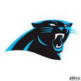 "Carolina Panthers 8"" Logo Magnet - Make sure everyone knows your are a fan with our big 8"" logo magnets. These officially licensed magnets stick to any magnetic metal and our outdoor rated! Perfect for game day and everyday! Officially licensed NFL product Licensee: Siskiyou Buckle .com"