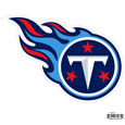 "Tennessee Titans 8"" Logo Magnet - Make sure everyone knows your are a fan with our big 8"" logo magnets. These officially licensed magnets stick to any magnetic metal and our outdoor rated! Perfect for game day and everyday! Officially licensed NFL product Licensee: Siskiyou Buckle .com"