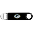 Green Bay Packers Long Neck Bottle Opener - This heavy-duty steel opener is extra long, with a durable vinyl covering. The extra length provides more leverage for speed opening and the opener features a large printed Green Bay Packers logo. Officially licensed NFL product Licensee: Siskiyou Buckle. !