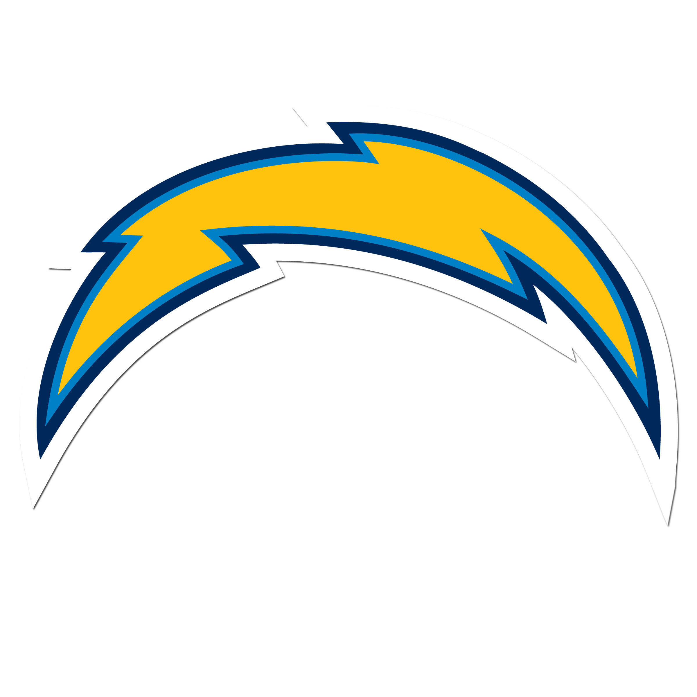 Los Angeles Chargers 8 inch Auto Decal - This bold, 8 inch Los Angeles Chargers is a great way to show off your team pride! The low tack vinyl decal is easily positioned and adjusted to make sure you get that logo in just the right spot on your vehicle. Designed to be used on the outside of the window.