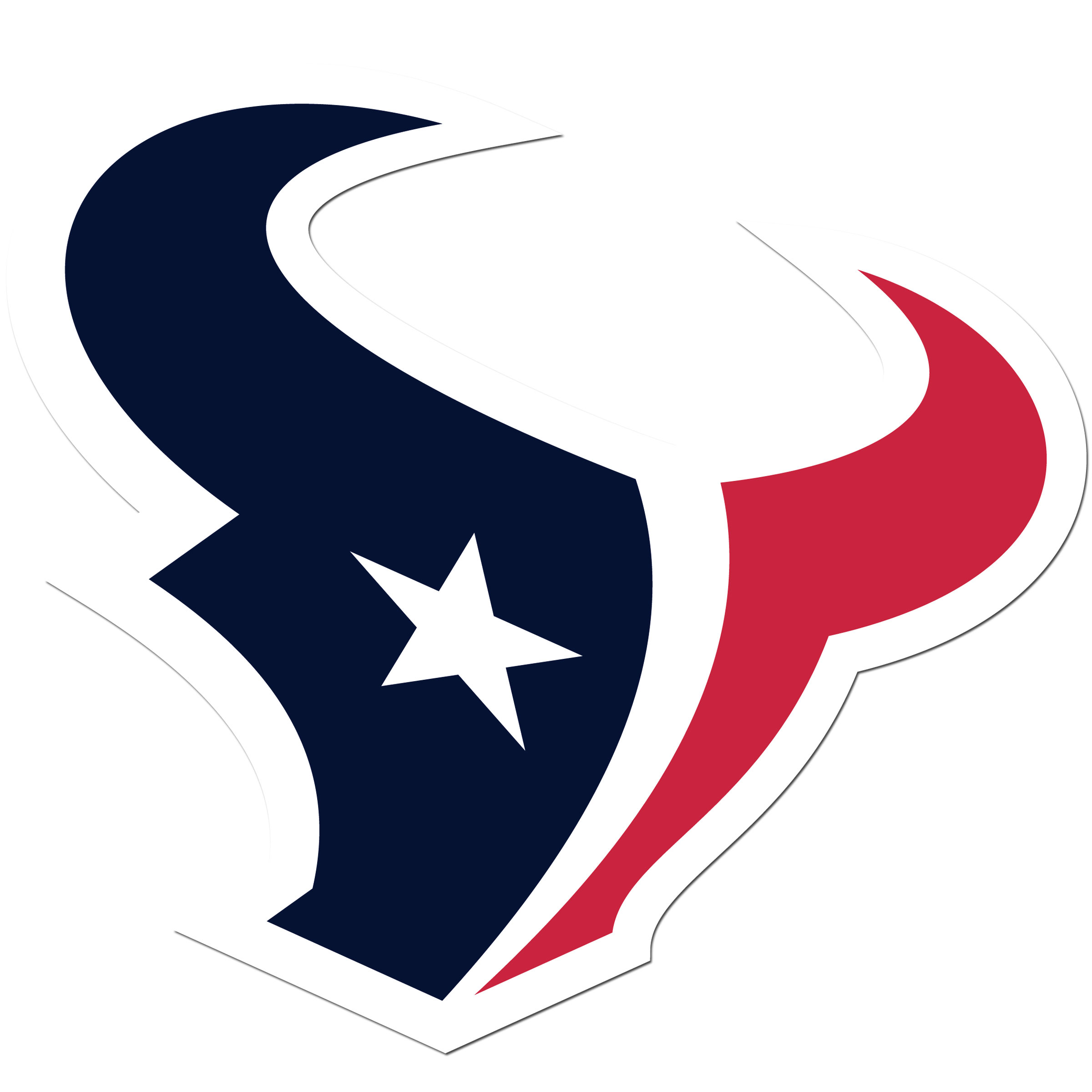 Houston Texans 8 inch Auto Decal - This bold, 8 inch Houston Texans is a great way to show off your team pride! The low tack vinyl decal is easily positioned and adjusted to make sure you get that logo in just the right spot on your vehicle. Designed to be used on the outside of the window.