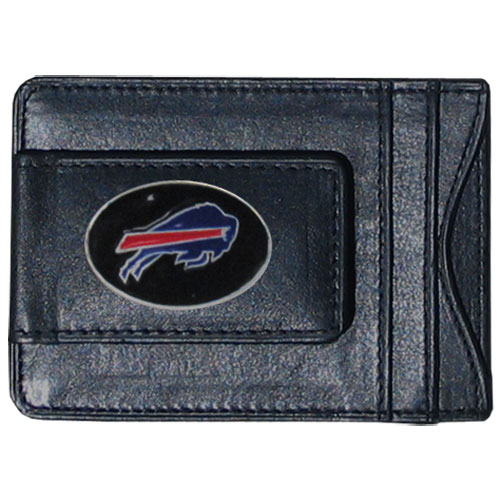Cash and Cardholder Buffalo Bills - Our Buffalo Bills fine leather cash & cardholder is the perfect way to organize both your cash and cards while showing off your team spirit! Officially licensed NFL product Licensee: Siskiyou Buckle .com