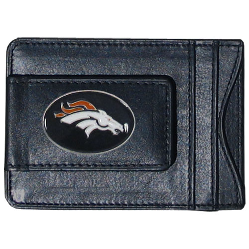 Cash & Cardholder Denver Broncos - Our Denver Broncos fine leather cash & cardholder is the perfect way to organize both your cash and cards while showing off your team spirit! Officially licensed NFL product Licensee: Siskiyou Buckle Thank you for visiting CrazedOutSports.com