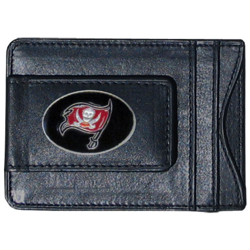 Cash & Cardholder Tampa Bay Buccaneers - Our Tampa Bay Buccaneers fine leather cash & cardholder is the perfect way to organize both your cash and cards while showing off your team spirit! Officially licensed NFL product Licensee: Siskiyou Buckle .com
