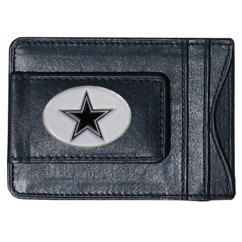 Cash & Cardholder Dallas Cowboys - Our Dallas Cowboys fine leather cash & cardholder is the perfect way to organize both your cash and cards while showing off your team spirit! Officially licensed NFL product Licensee: Siskiyou Buckle Thank you for visiting CrazedOutSports.com