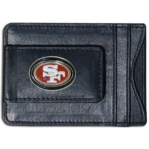 Cash & Cardholder San Francisco 49ers - Our San Francisco 49ers fine leather cash & cardholder is the perfect way to organize both your cash and cards while showing off your team spirit! Officially licensed NFL product Licensee: Siskiyou Buckle .com