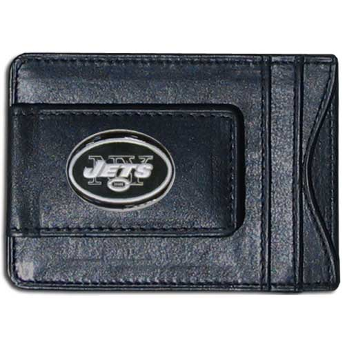 Cash & Cardholder New York Jets - Our New York Jets fine leather cash & cardholder is the perfect way to organize both your cash and cards while showing off your team spirit! Officially licensed NFL product Licensee: Siskiyou Buckle Thank you for visiting CrazedOutSports.com