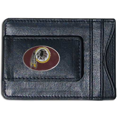 Cash & Cardholder Washington Redskins - Our Washington Redskins fine leather cash & cardholder is the perfect way to organize both your cash and cards while showing off your team spirit! Officially licensed NFL product Licensee: Siskiyou Buckle Thank you for visiting CrazedOutSports.com