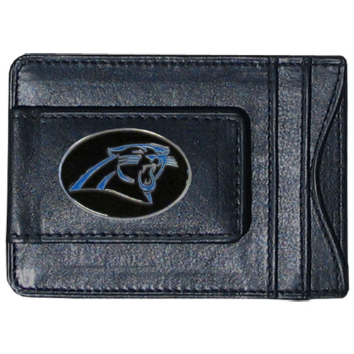 Cash & Cardholder Carolina Panthers - Our Carolina Panthers fine leather cash & cardholder is the perfect way to organize both your cash and cards while showing off your team spirit! Officially licensed NFL product Licensee: Siskiyou Buckle Thank you for visiting CrazedOutSports.com