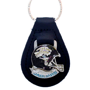 Small Leather & Pewter Helmet Key Fob-Jaguars - Small Leather & Helmet Key Fob-Jacksonville Jaguars Officially licensed NFL product Licensee: Siskiyou Buckle Thank you for visiting CrazedOutSports.com
