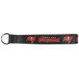 Tampa Bay Buccaneers  Lanyard Key Chain - Our wrist strap lanyard key chain is made of durable and comfortable woven material and is a not only a great key chain but an easy way to keep track of your keys. The bright Tampa Bay Buccaneers graffics makes this key chain easy to find in gym bags, purses and in the dreaded couch cushions.