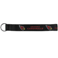 Arizona Cardinals  Lanyard Key Chain - Our wrist strap lanyard key chain is made of durable and comfortable woven material and is a not only a great key chain but an easy way to keep track of your keys. The bright Arizona Cardinals graffics makes this key chain easy to find in gym bags, purses and in the dreaded couch cushions.