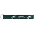 Philadelphia Eagles  Lanyard Key Chain - Our wrist strap lanyard key chain is made of durable and comfortable woven material and is a not only a great key chain but an easy way to keep track of your keys. The bright Philadelphia Eagles graffics makes this key chain easy to find in gym bags, purses and in the dreaded couch cushions.